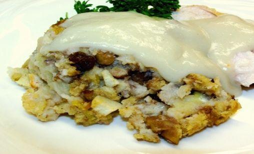 Apple Chestnut Stuffing | Kosher Recipes