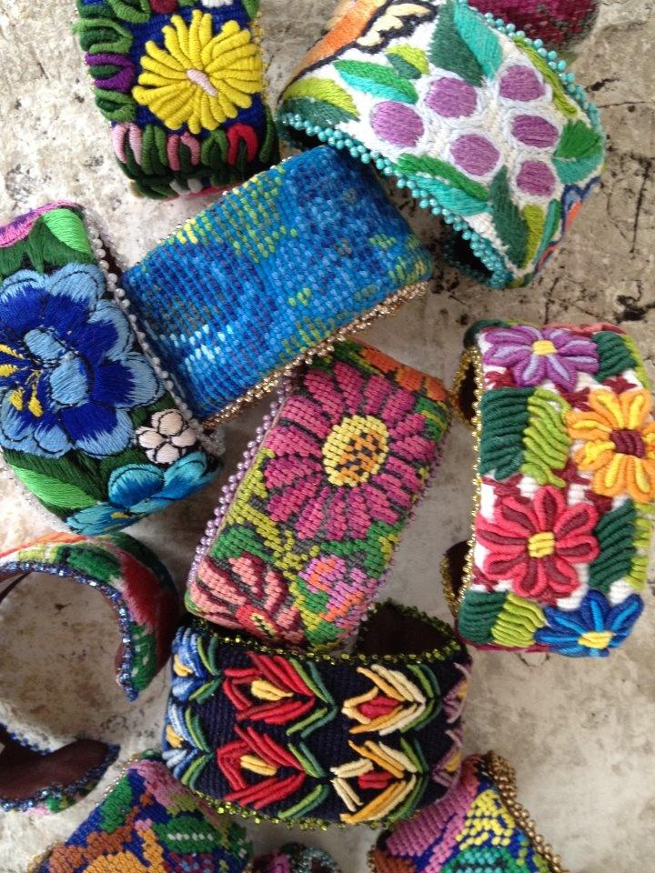 ❥ Guatemalan cuffs