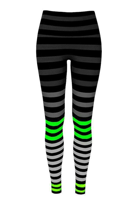 K-DEER Legging - Erika Stripe