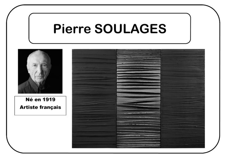 Pierre Soulages - Portrait d'artiste en MS