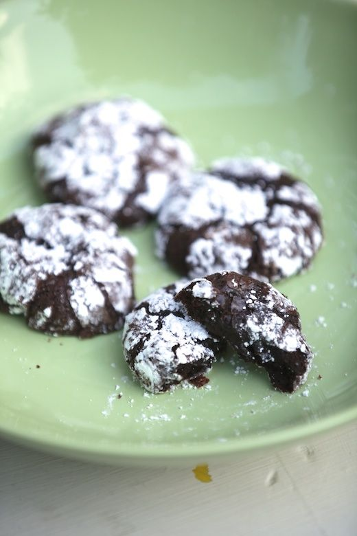 Just made these for a friend who is gluten intolerant. I had my doubts...They are heaven!!!! emily k: Ooey Gooey Deep Dark Chocolate Fudge Cookies {Gluten Free, Dairy Free}