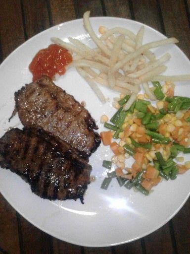 STeak for lunch