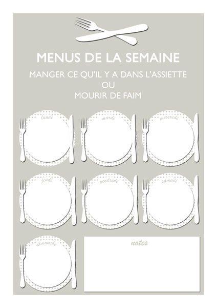 Idées de menus à moins de trois euros