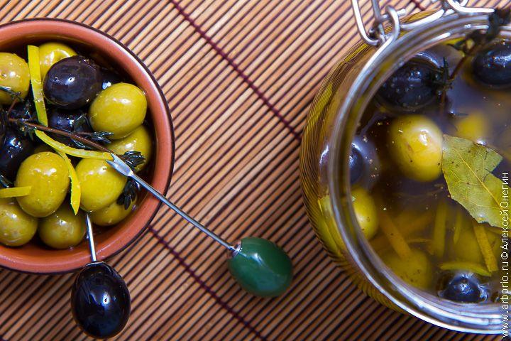 Маринованные оливки   Кулинарные заметки Алексея Онегина