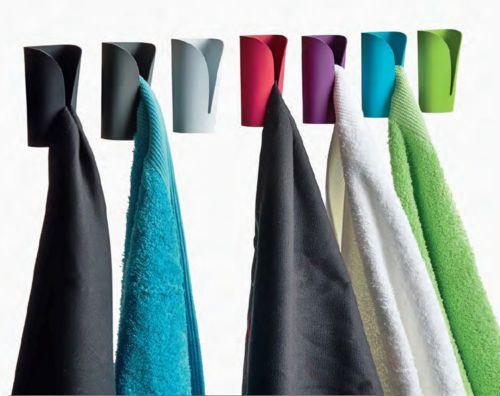2er Set Haken Rot Handtuchhaken Handtuchklemme Handtuchklammer  Handtuchhalter