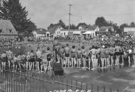 45 best vintage swimming pools and swimsuits images on pinterest vintage bathing suits for Public swimming pools portland or