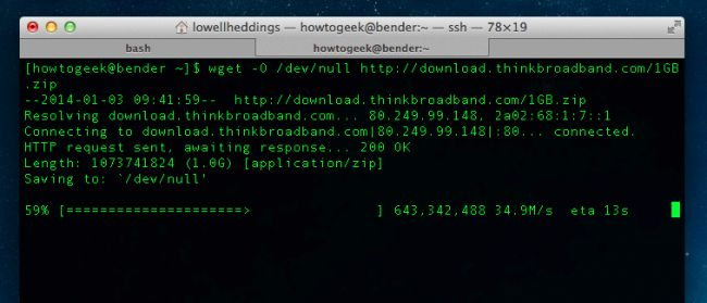 How to Test Your Internet Speed from the Command Line