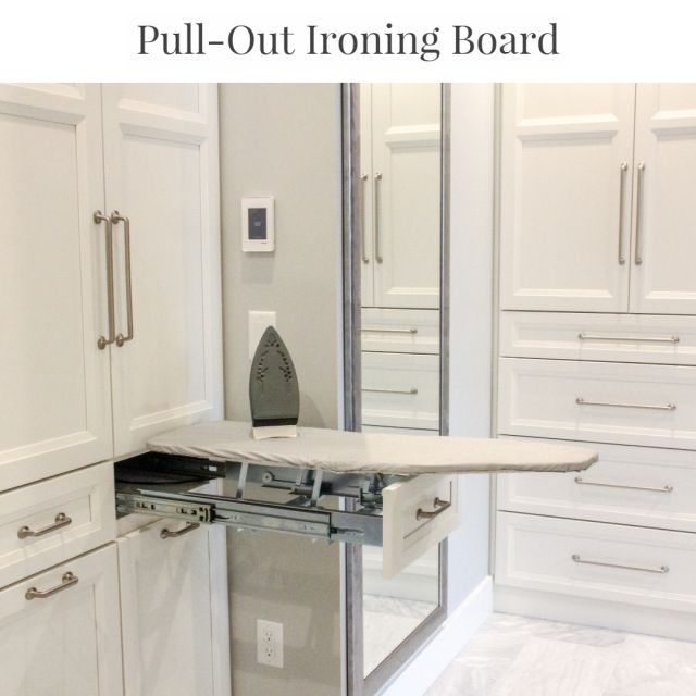 Fold Up Ironing Boards Are Unsightly And Too Short This Full Size