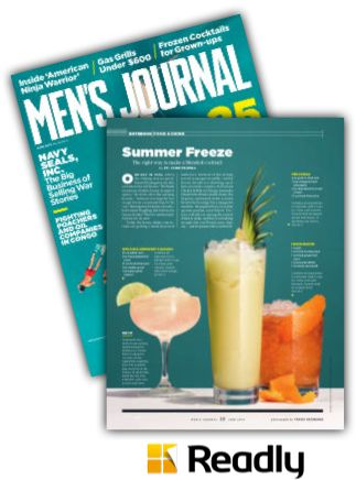 Suggestion about Men's Journal June 2015 page 22