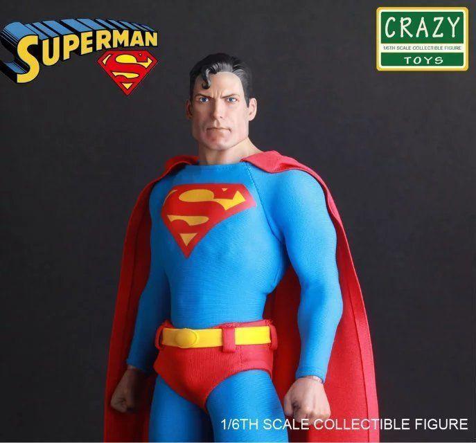 CRAZY TOYS DC COMICS CLASSIC SUPERMAN 1/6 SCALE COLLECTIBLE ACTION FIGURE STATUE  | eBay