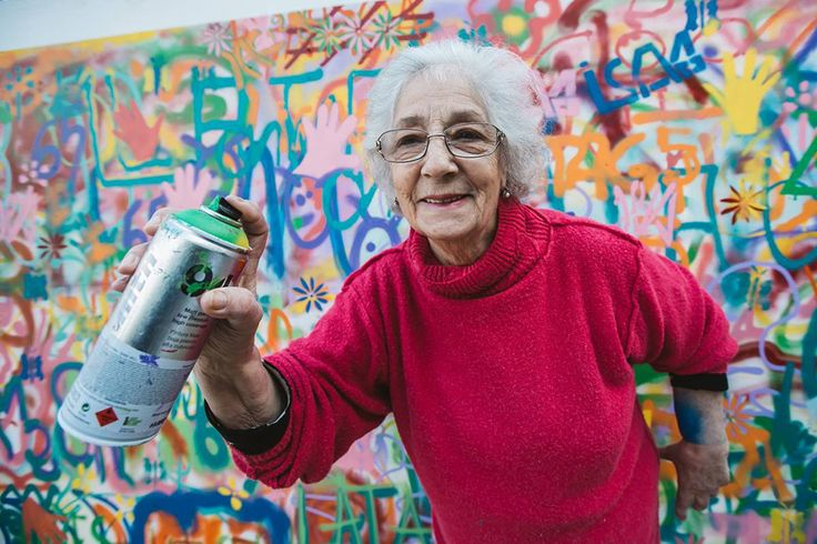 Lisbon is Subverting Street Art Cliches Through Creative Workshops for Older Peopleby Kate Sierzputowski on May 26, 2015