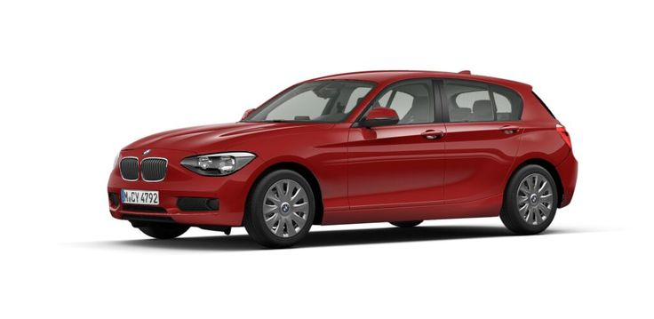 BMW 118i 5-Türer Automatik 170 PS in Karmesinrot Quicklink: mein.bmw.de/l1g2a0g6 32.690€ #Benzin