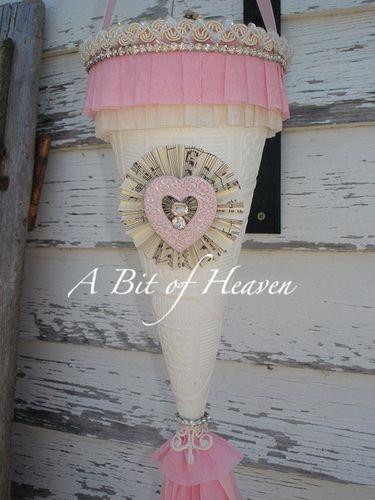 valentine's cone