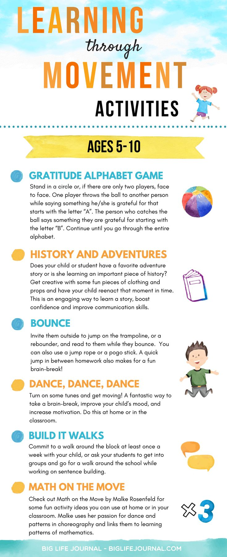 How to raise smart kids through movement 15 agespecific
