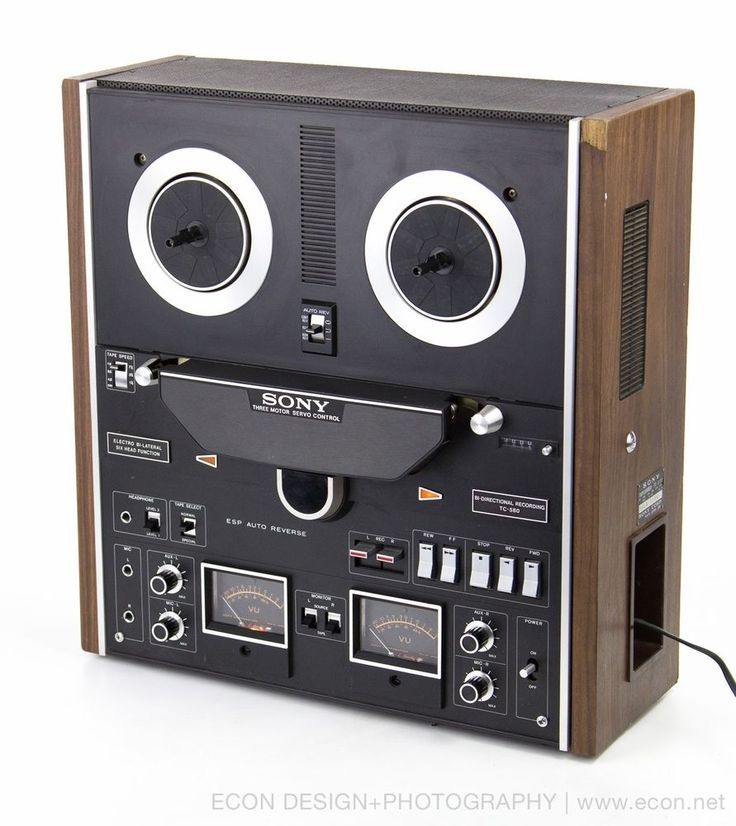 Sony Tc 580 Auto Reverse Open Reel Stereo Tape Player