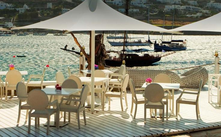 A La Carte Mykonos | Hotel Restaurant, Mykonos Restaurants, Kivotos Hotel