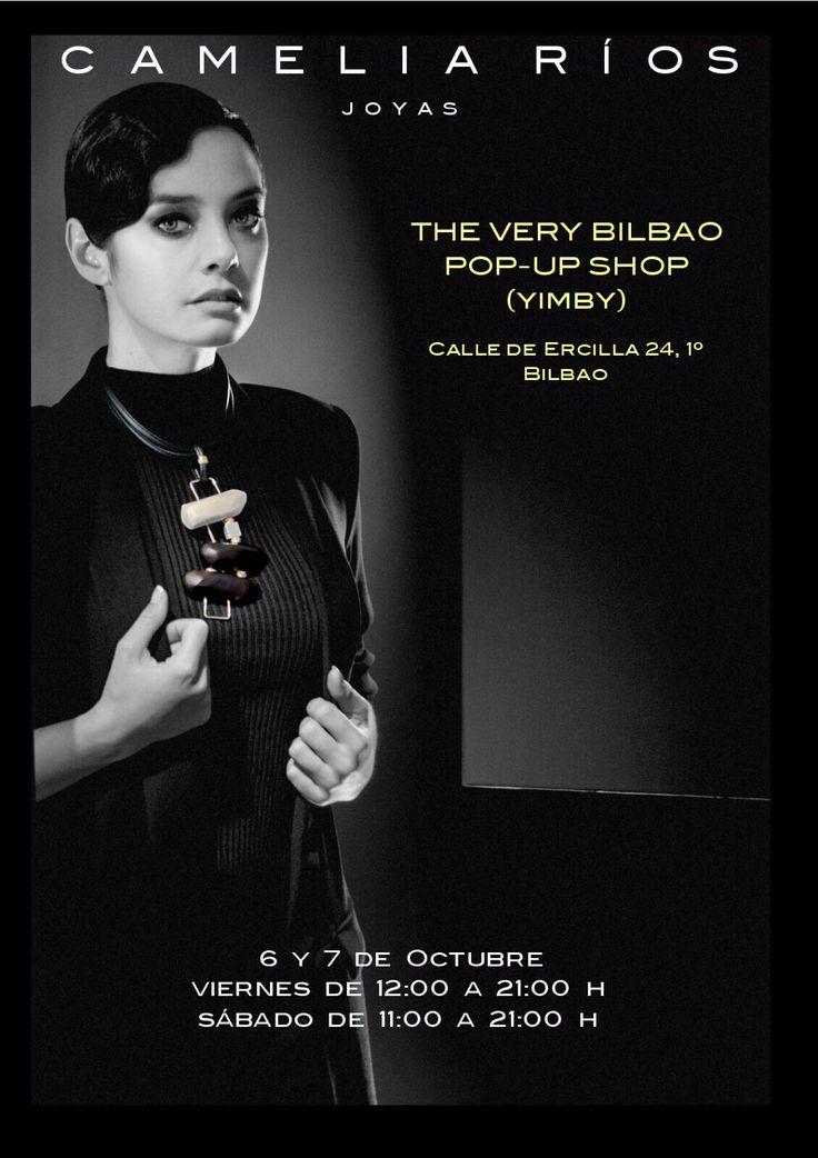 Hoy viernes 6 y mañana sábado 7 estaremos en el espacio Yimby de Bilbao ( c/Ercilla 24, 1°), de 11 a 21 h, allí te espero ...