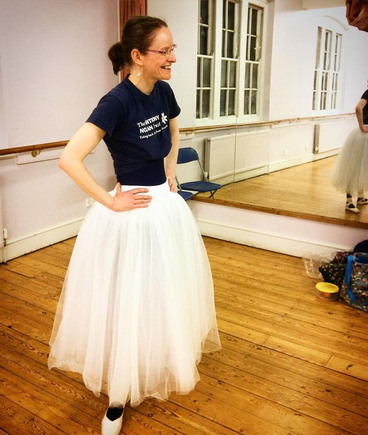Test driving an overlay for a costume. #YKBG #ballet #adultballet #oxford