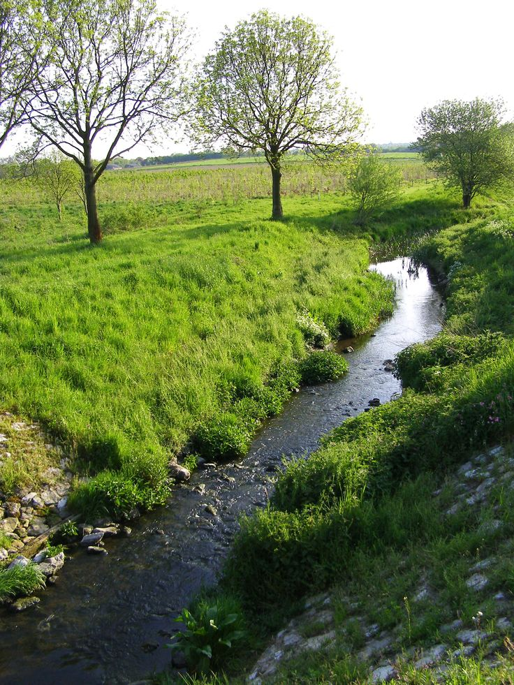 Geleenbeek, Zuid-Limburg. The Netherlands