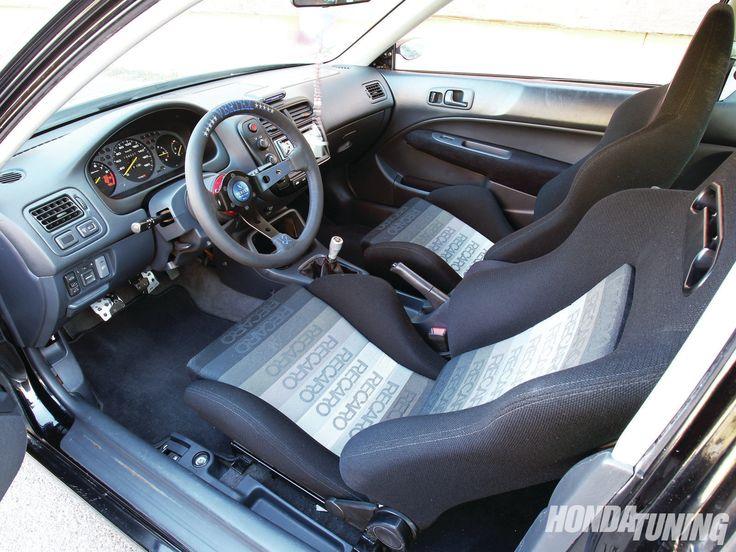 Honda Civic SI 1999 Interior