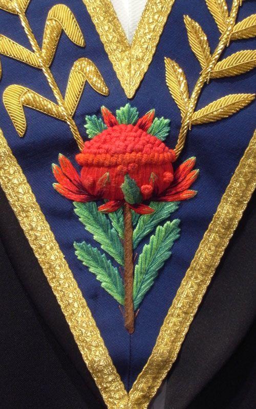 Connection: Lafayette, Washington's apron, and Free Masonry