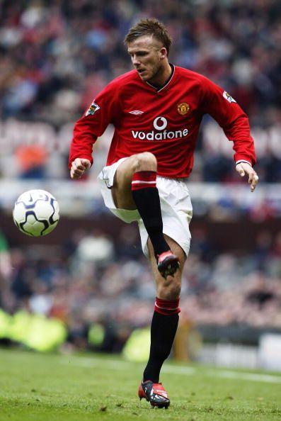 David Beckham - Manchester United 2001