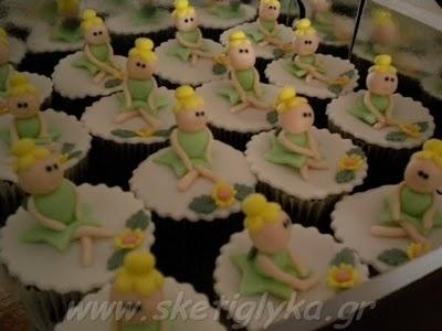 Sketiglyka: Κεκάκια - Cupcakes: Cupcakes Rosa-Choqu