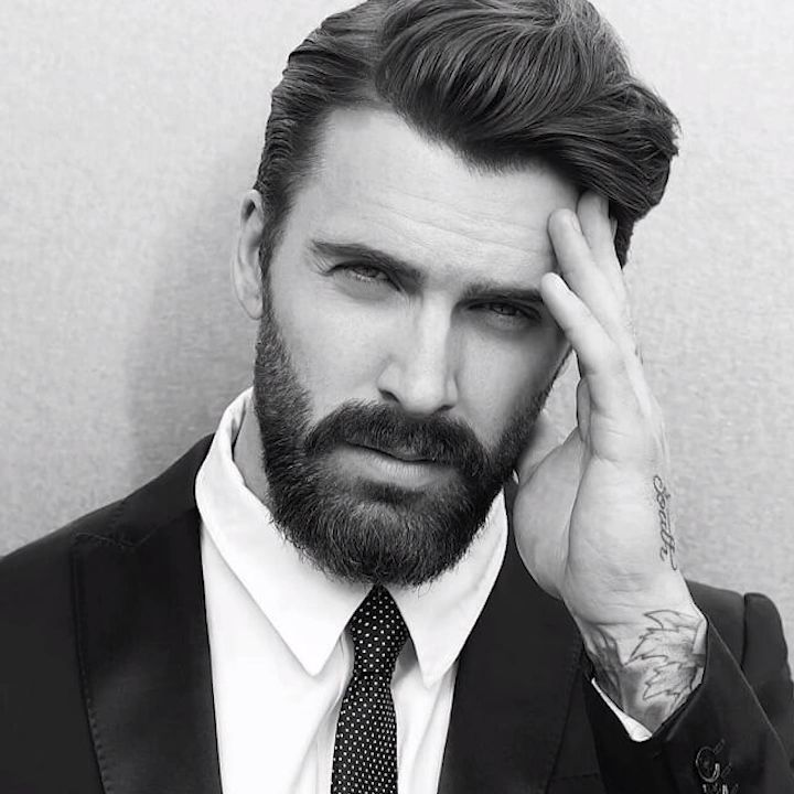 25 Best Gentleman Haircut Styles Businessmen Haircut - Gentleman hairstyle - Gentleman haircut 2019 - Skin Fade With Silk Back - Gentleman Beard Style - Pompadour Style for Businessman - Classic haircut - Modern hairstyle