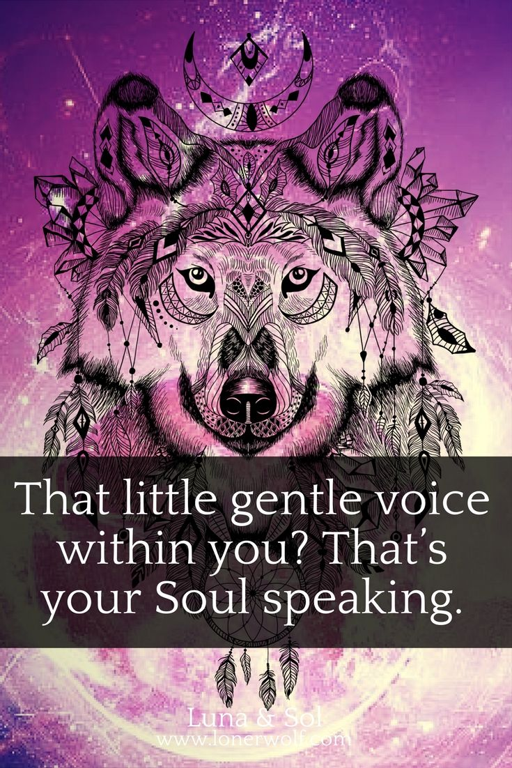Soul connection is a powerful thing ... all you need to do is listen.