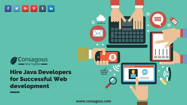 Looking to hire java developers? Hire best skilled web developers from consagous and unleash your online business potential in many ways by developing an alluring website.