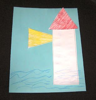 Lighthouse craft. Easy to make!