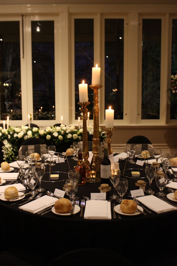 Decor It Events gold candlesticks wedding centerpiece.   #centrepiece #gold #candlesticks  #weddinginspo #wedding #wedding centerpiece  www.decorit.com.au