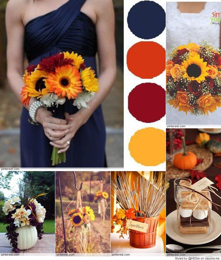 Romantic fall wedding ideas inspirations clipzine for Wedding themes for september