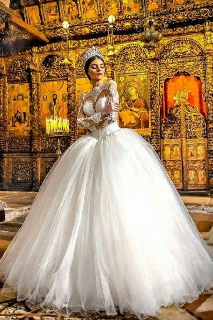 resultado de imagen para vestidos de boda pomposos | moda