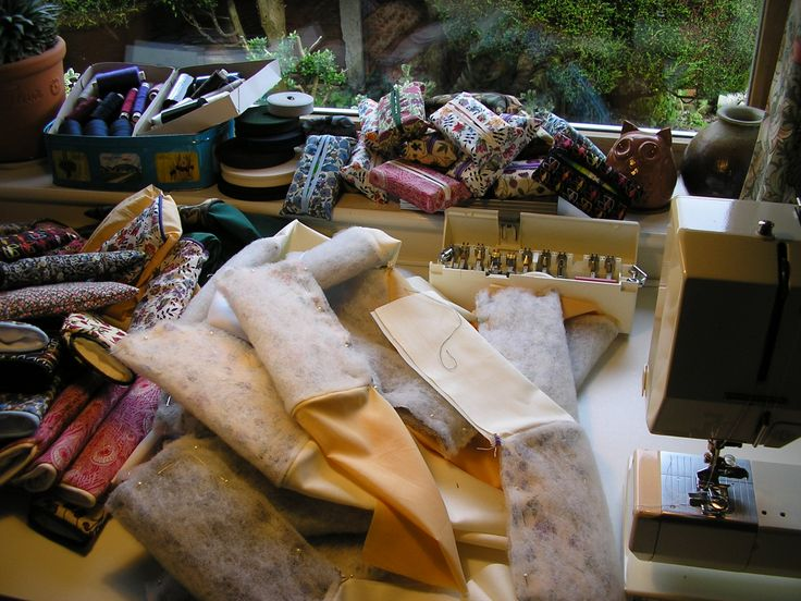"""Items being constructed from the lovely Liberty Tana Lawn I bought on my last trip to my favourite store.  Intended for a new """"Gift Ideas"""" category."""