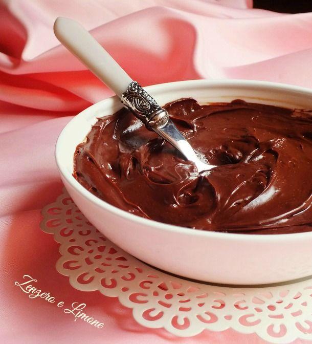 crema al cioccolato e latte