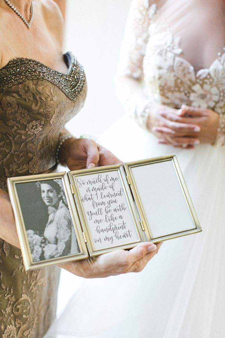 Mother of the bride photo gift idea // Savannah Outdoor Wedding // Georgia State Railroad Museum Wedding Venue