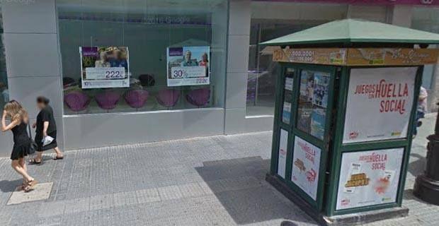 En la calle Canalejas de Vélez se han vendido siete cupones premiados con 35.000 euros y en Algarrobo el primer premio de la Lotería.      El Sorteo de la ONCE de este jueves ha repartido 595.000 euros en Vélez-Málaga.   #loteria nacional #once