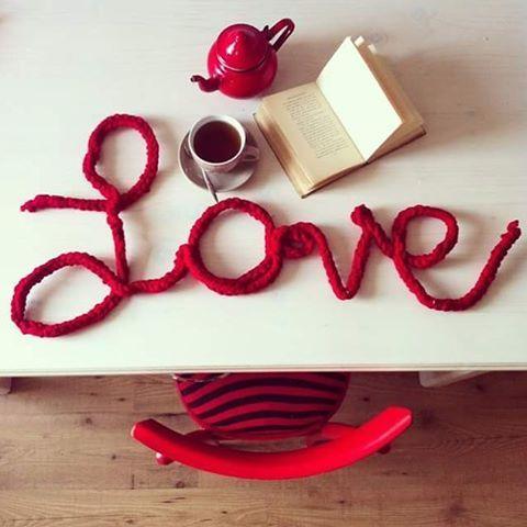 finger knitting big love