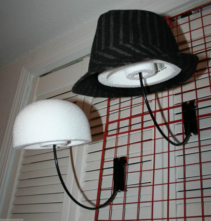 Styrofoam Display Block Hat Cap Store Wig Holder Mannequin Head Form Craft Art | eBay