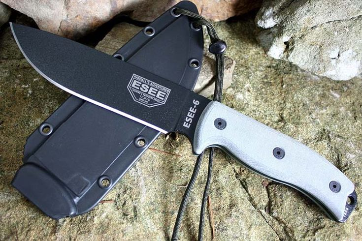ESEE survival knife | 23 Best Survival Knife Brands You Can Trust | Which Survival Knife is Right for You? | How To Choose The Best Gear For Human Or Animal Attacks, Hunting, Cutting, Slicing, Making Other Tools, Building Shelter and Much More! by Survival Life at http://survivallife.com/2016/01/19/23-best-survival-knife-brands/