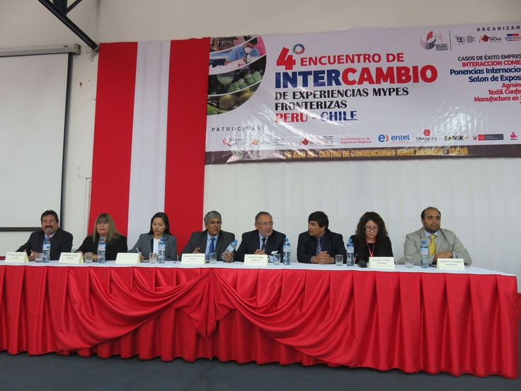 IV Intercambio de Experiencias Mypes Fronterizas Perú - Chile.