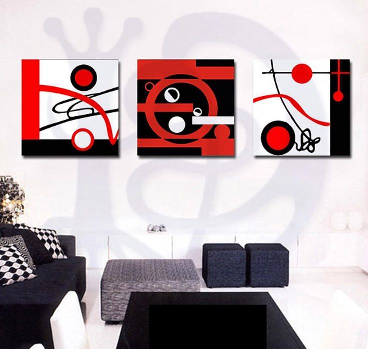 Rojo Blanco y Negro.  Red Black and White.  #decoralizate #chile #santigo #fineart #decoracion #cuadros #sinmarco #abstractart #blackandwhite #abstracters_anonymous #abstract_buff #abstraction #instagood #creative #artsy #beautiful #photooftheday #abstracto #stayabstract #instaabstract