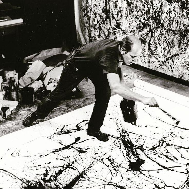 Pollock  #jacksonpollock #art #painting #memory #timeless #inspiration #designer #moodboard #instagood