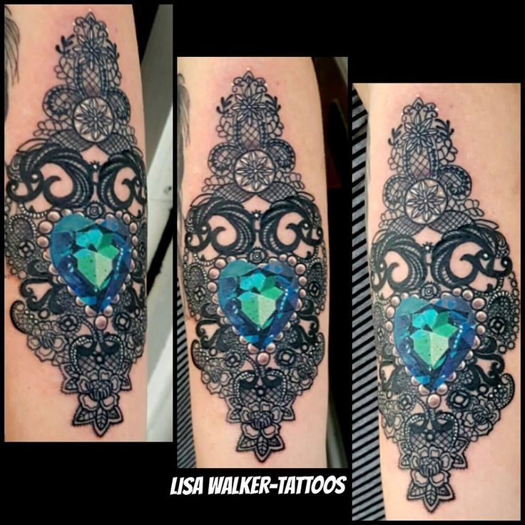 Recommend you victorian lace heart tattoos with