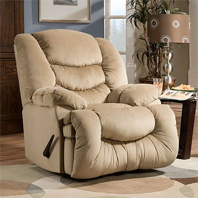 Stratolounger Calais Oversized Tan Recliner At Big Lots For The House