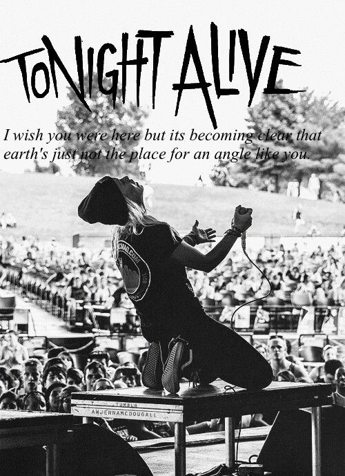 Tonight alive ♥Amelia