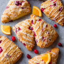 iced-cranberry-orange-scones