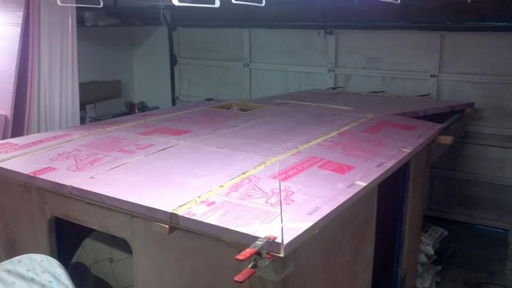 Pod Homebuilt Foam Core Fiberglass Skin Pop Up Camper