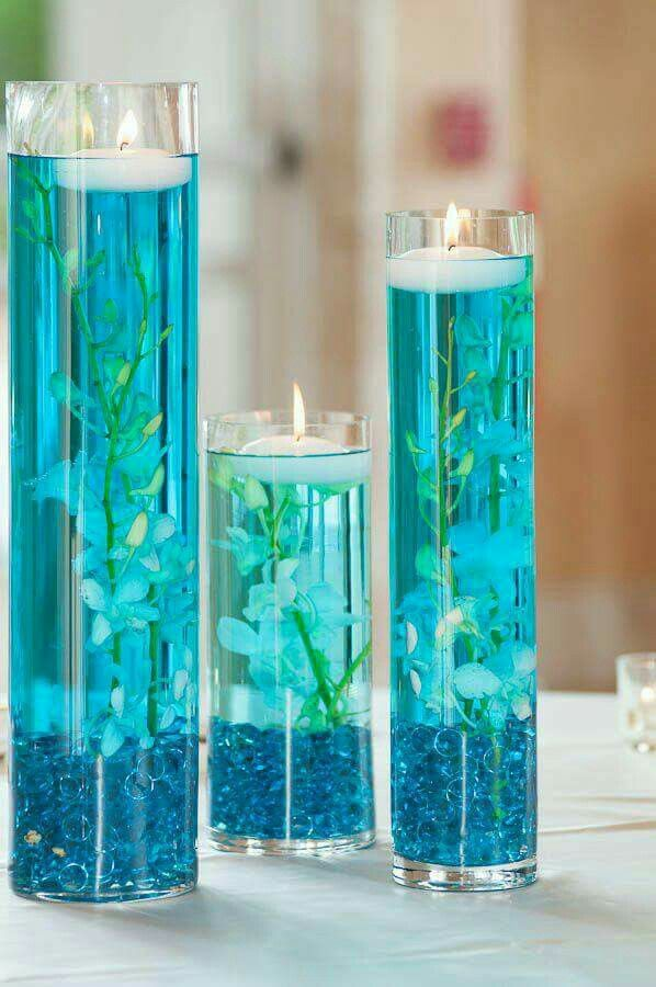 how to make sweet sixteen centerpieces